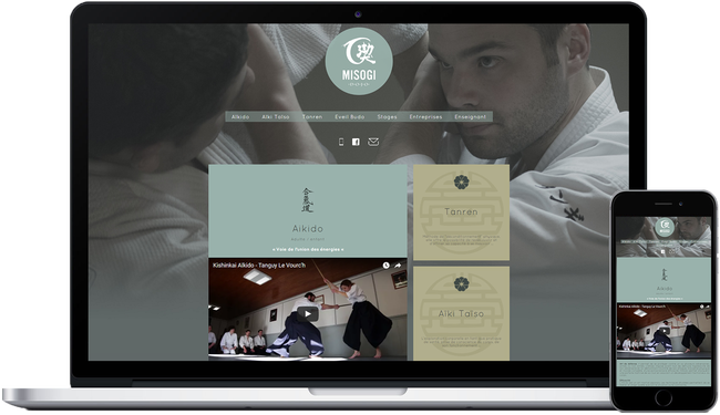 Responsive website for the MIsogi Dojo